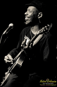 Incredible show at dba last night with Walter Wolfman Washington, with special guests Leon