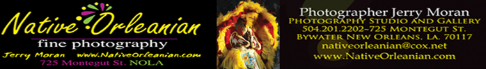Native Orleanian Fine Photography - the photography of Jerry Moran