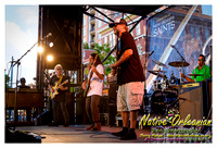 Anders Osborne at YLC Wednesday in Lafayette Square NOLA June 4th 2014