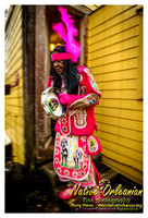 Mardi Gras 2014 with Big Chief Monk Boudreaux