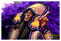 Mardi Gras Day 2012 with Big Chief Monk Boudreaux