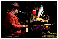 Dr. John, Ivan Neville and Walter Wolfman Washington Jazz Fest 2012 Nightime