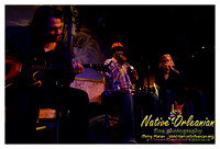 Indian Blues Monk Boudreaux, Johnny Sansone, John Fohl at Snug Harbor 1-26-14