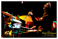 Jon Cleary, Johnny Vidacovich and James Singleton at Tipitinas Uptown 1-14-12