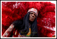 Mardi Gras Day 2018 with Big Chief Monk Boudreaux and the Golden Eagle Mardi Gras Indians